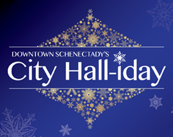 Downtown Schenectady's City Hall-iday