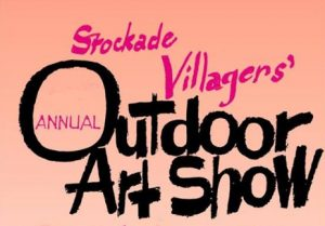 Stockage Villagers Art Show Logo