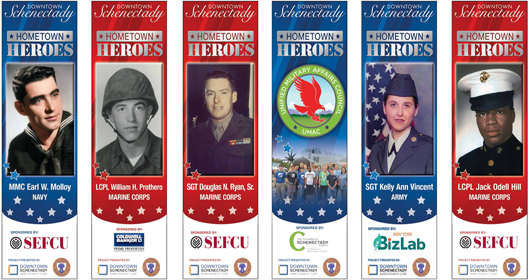 2021 Downtown Schenectady Hometown Heroes Banner Program-Nominations