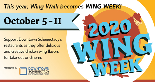 Downtown Schenectady Wing Week